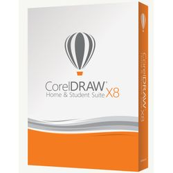 Corel CorelDRAW Home & Student Suite X8-CDHSX8FRNLMBEU