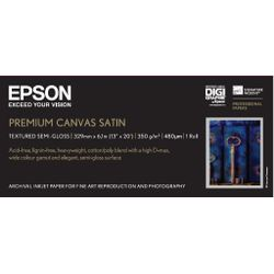 "Epson Premium Canvas Satin, 13"" x 6,1 m, 350g/m²"
