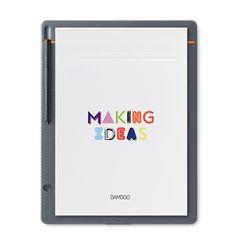 Wacom Bamboo CDS-810S Grijs, Oranje grafische tablet