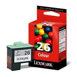 Lexmark Nr. 26 kleuren inktcartridge