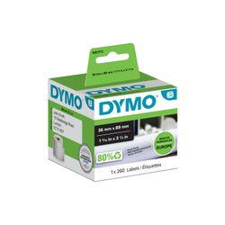 DYMO 1983172 printeretiket Wit Zelfklevend printerlabel