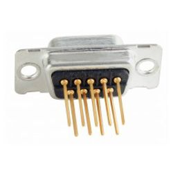 Conec 164A10119X D-SUB 9-pin Zwart, Zilver kabel-connector
