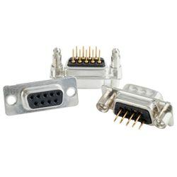 Conec 164A12029X D-SUB Socket Zwart, Zilver kabel-connector