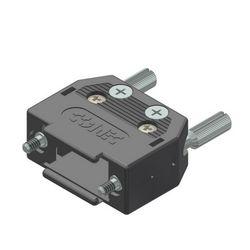 Conec 165X10139XE D-SUB Zwart kabel-connector