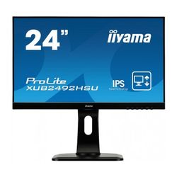 "iiyama ProLite XUB2492HSU-B1 23.8"" Full HD IPS Mat Zwart Flat computer monitor LED display"