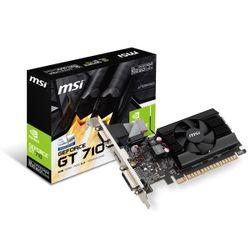 MSI GeForce GT 710 2GD3 LP grafische kaart