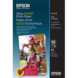 Epson Value Glossy Photo Paper - A4 - 50 Vellen
