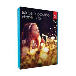 Adobe Photoshop Elements 15, Win, Mac, 1024 x 768 Pixels, Doos, DEU, Volledig