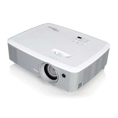 Optoma EH345 beamer/projector 3200 ANSI lumens DLP 1080p (1920x1080) 3D Draagbare projector Wit