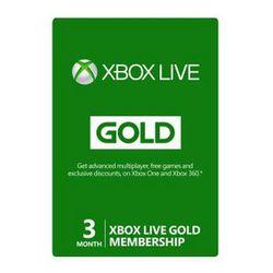 Microsoft Xbox Live Gold Membership - Inschrijfkaart ( 3 maanden ) - ESD