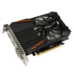 Gigabyte GeForce GTX 1050 Ti D5 4G grafische kaart