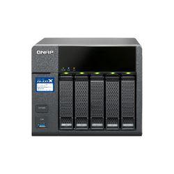 QNAP TS-531X NAS Desktop Ethernet LAN Zwart