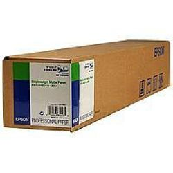 "Epson Singleweight Matte Paper Roll, 24"" x 40 m, 120g/m²"