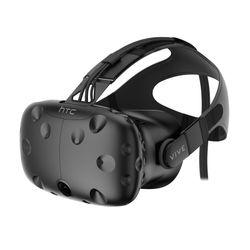 HTC Vive Op het hoofd gedragen beeldscherm (HMD) Zwart
