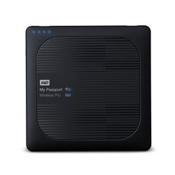 Western Digital My Passport Wireless Pro Externe draadloze HDD 4TB Zwart externe harde schijf