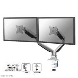 """Newstar NM-D750DSILVER flat panel bureau steun 81,3 cm (32"""")"""