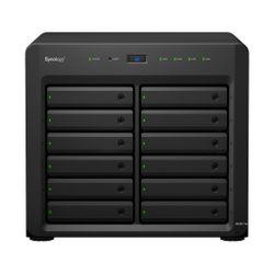Synology DiskStation DS3617xs Ethernet LAN Desktop Zwart NAS