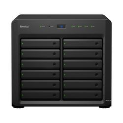 Synology DiskStation DS3617xs Ethernet LAN Desktop Zwart NAS