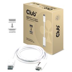 CLUB3D DisplayPort™ 1.2 to HDMI™ 2.0 Active Cable 4K60Hz 3Meter M/M-CAC-1073