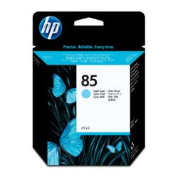 HP 85 licht-cyaan DesignJet inktcartridge, 69 ml